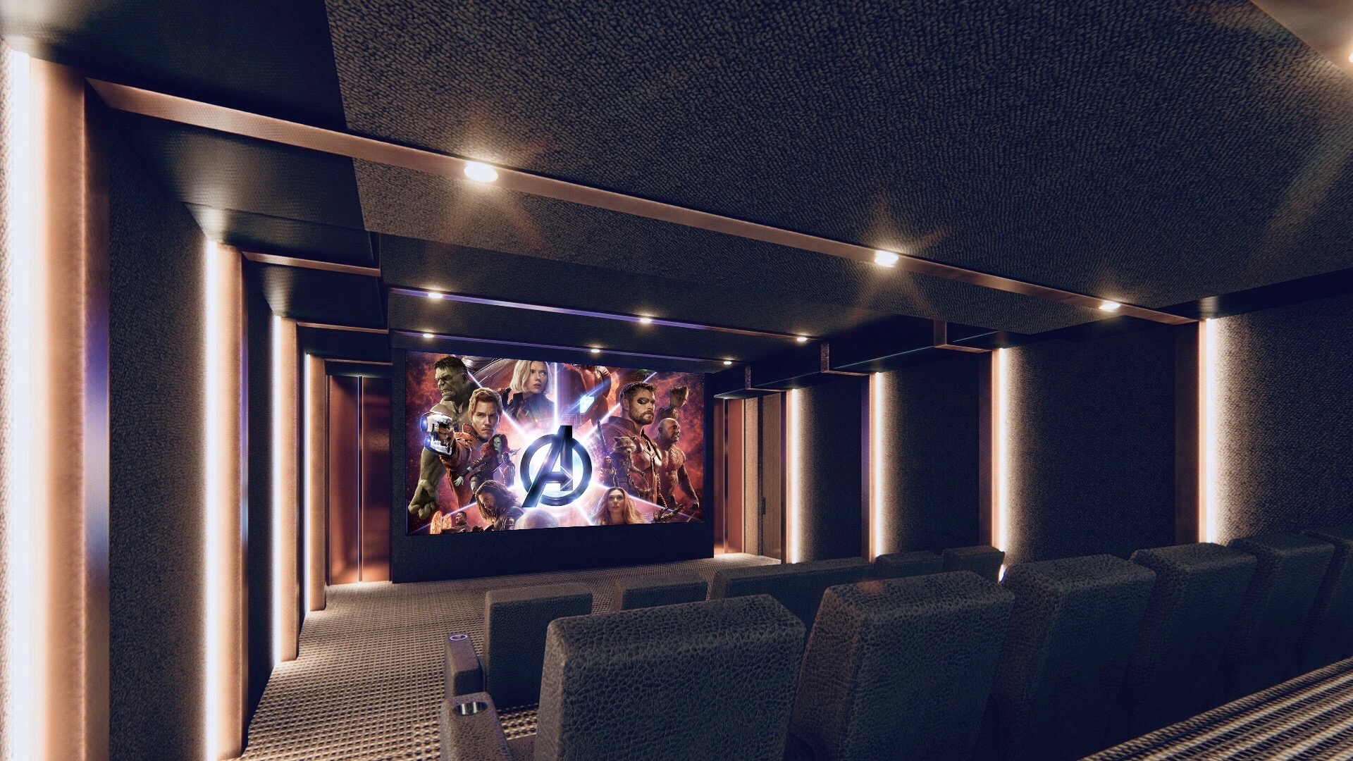 Theatre Design by Sheba Kwan - Red Theory on simple home theatre, cool home theatre, design home theatre, contemporary home theatre, creative home theatre, modern home theatre,